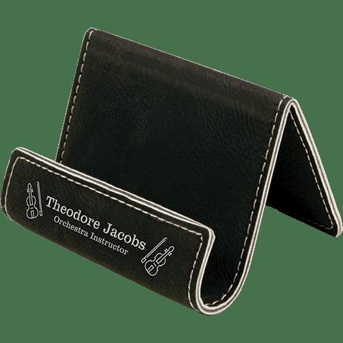 Leatherette Holder/Easel - 10 Colors 2