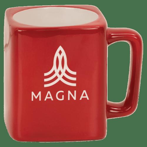 Square Ceramic Mug (8oz) - 3 Colors 1
