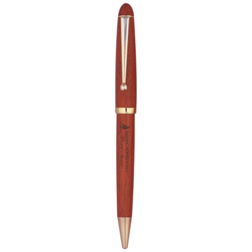 Rosewood Finish Ballpoint Pen