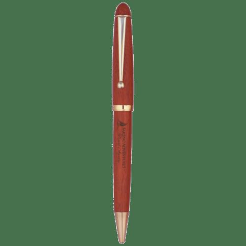 Rosewood Finish Ballpoint Pen