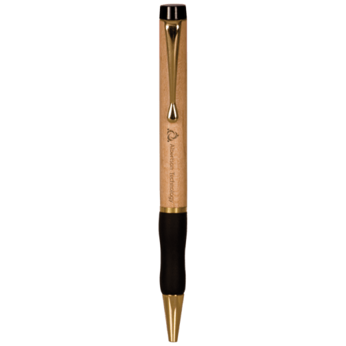 Maple Ballpoint Pen with Gripper