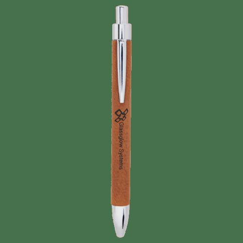 Leatherette Ballpoint Pen - 11 Colors 4