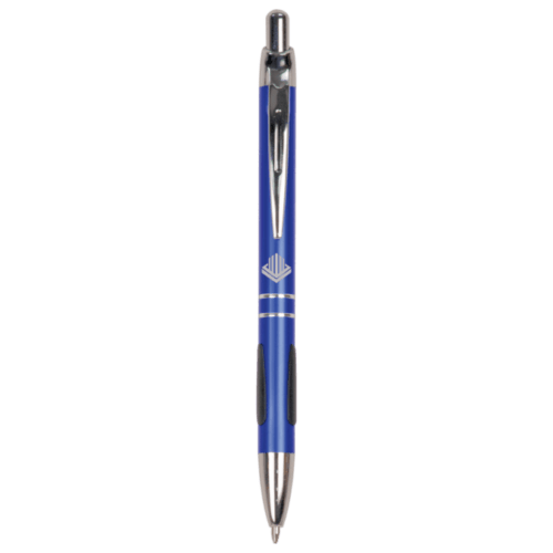 Gloss Ballpoint Pen with Grippers - 5 Colors 1