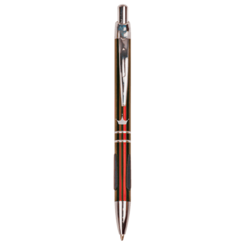 Gloss Ballpoint Pen with Grippers - 5 Colors 2