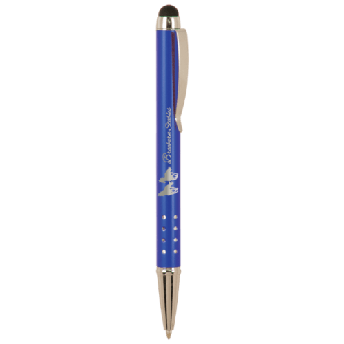 Gloss Ballpoint Pen with Stylus