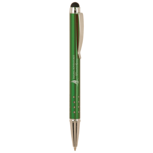 Gloss Ballpoint Pen with Stylus - 5 Colors 3