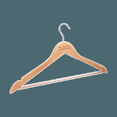 Maple Clothes Hanger 1