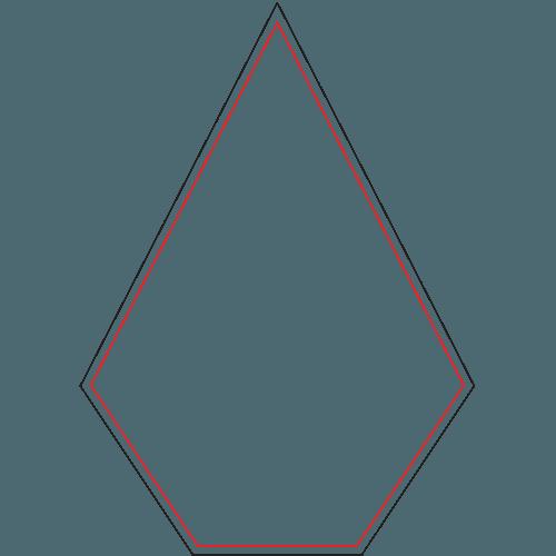 Diamond Full Color Acrylic - 2 Sizes 1