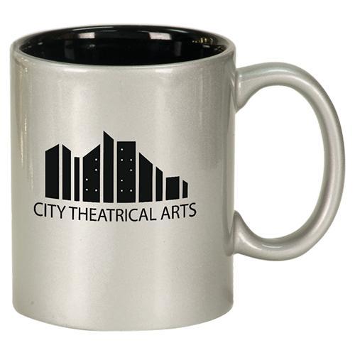 Round Ceramic Mug (11 oz.)