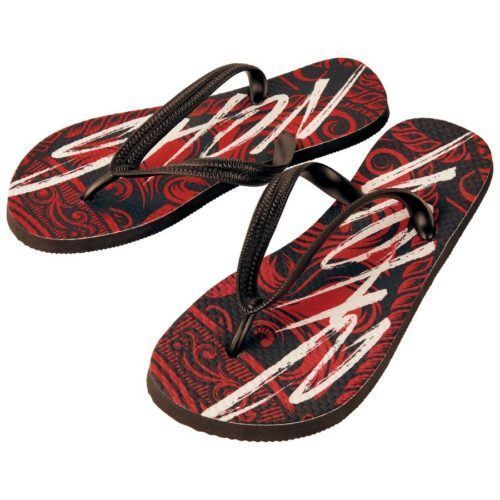 Adult Full Color Flip Flops - 4 Sizes 1