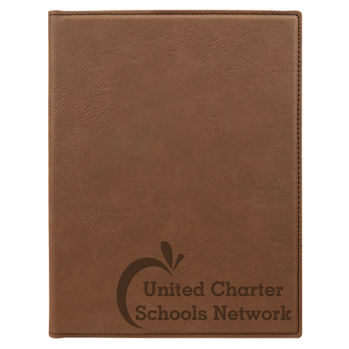 Leatherette Portfolio with Notepad - 16 Colors & 2 Sizes 3