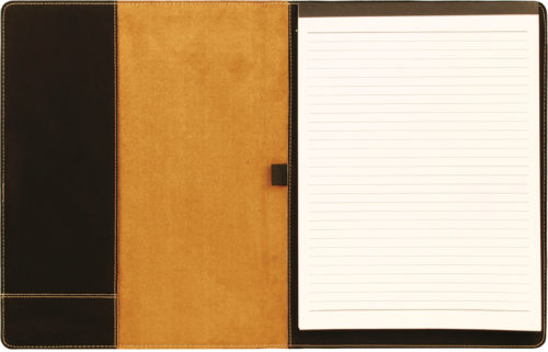 Leatherette Portfolio with Notepad - 16 Colors & 2 Sizes 1