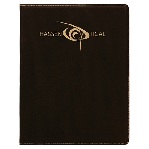 Leatherette Portfolio with Notepad - 16 Colors & 2 Sizes 4