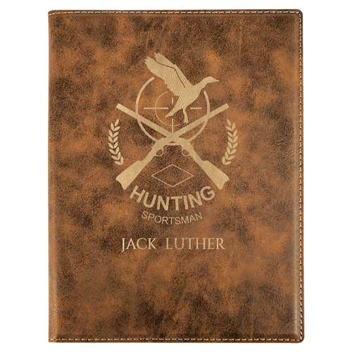 Leatherette Portfolio with Notepad - 16 Colors & 2 Sizes 10