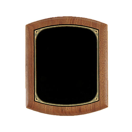 Solid American Walnut Plaque - 3 Sizes 2