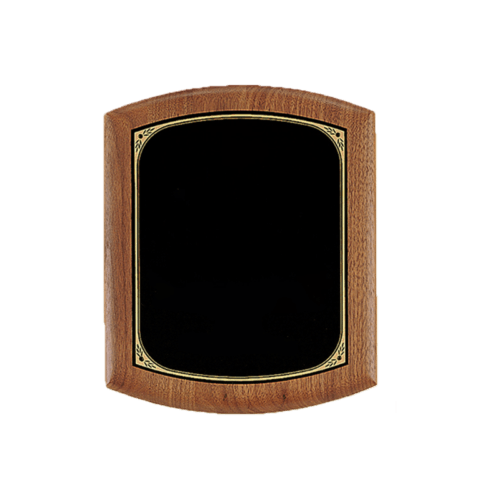 Solid American Walnut Plaque - 3 Sizes 3