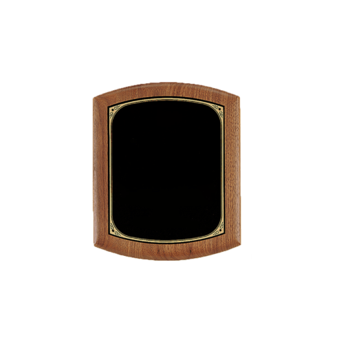 Solid American Walnut Plaque - 3 Sizes 4