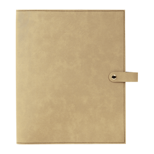 Leatherette Book Cover with Snap Closure - 6 Colors & 2 Sizes 2