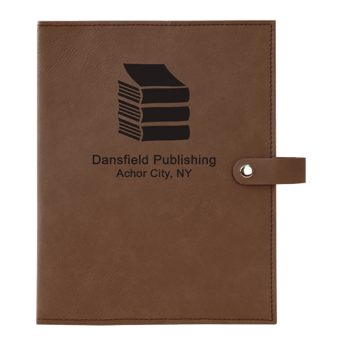 Leatherette Book Cover with Snap Closure - 6 Colors & 2 Sizes 11