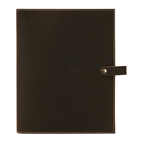 Leatherette Book Cover with Snap Closure - 6 Colors & 2 Sizes 10