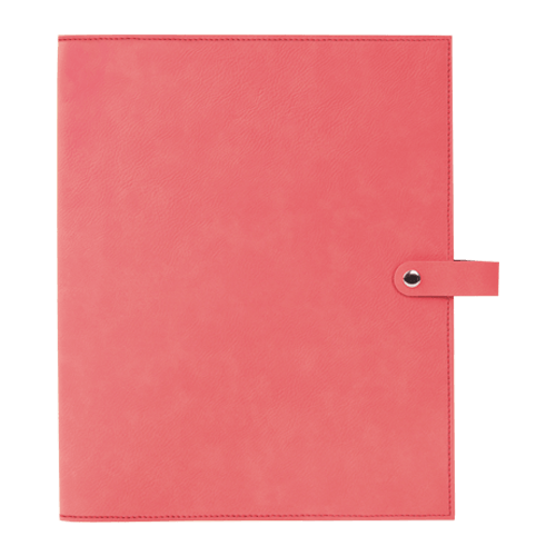 Leatherette Book Cover with Snap Closure - 6 Colors & 2 Sizes 6