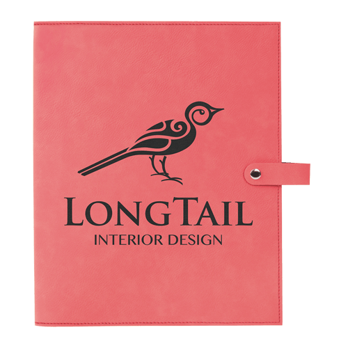 Leatherette Book Cover with Snap Closure - 6 Colors & 2 Sizes 1
