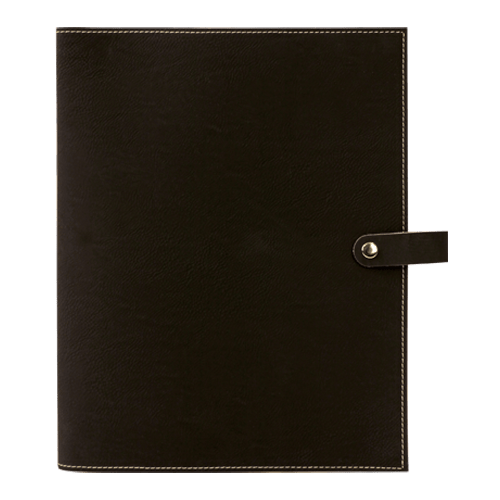 Leatherette Book Cover with Snap Closure - 6 Colors & 2 Sizes 4