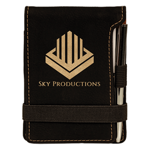 Leatherette Mini Pad with Pen - 15 Colors 9