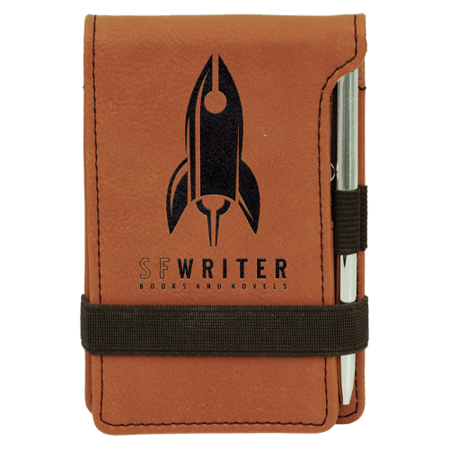 Leatherette Mini Pad with Pen - 15 Colors 8