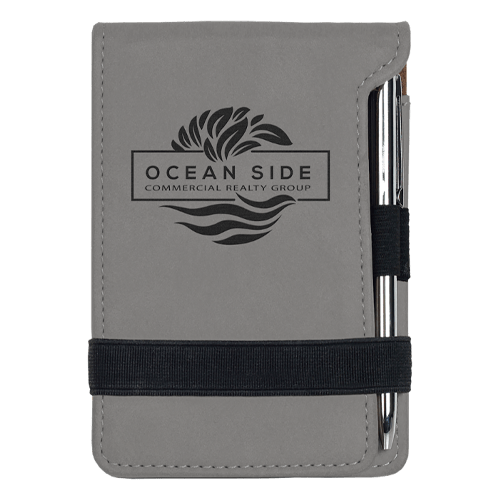 Leatherette Mini Pad with Pen - 15 Colors 7