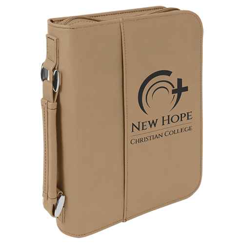 Leatherette Book/Bible Cover with Handle & Zipper - Multiple Colors & Sizes 2