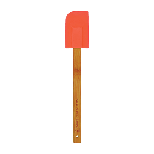 Silicone Spatula with Bamboo Handle - 6 Colors 1