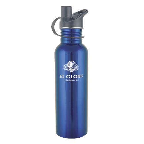 25oz Stainless Steel Water Bottle with Sport Cap - 5 Colors 2
