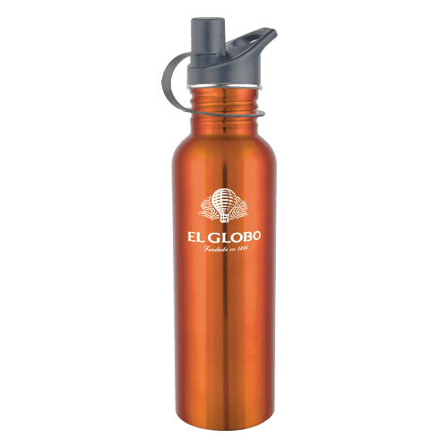 25oz Stainless Steel Water Bottle with Sport Cap - 5 Colors 5