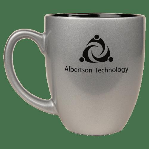 Ceramic Bistro Mug (16 oz) - 5 Colors 5