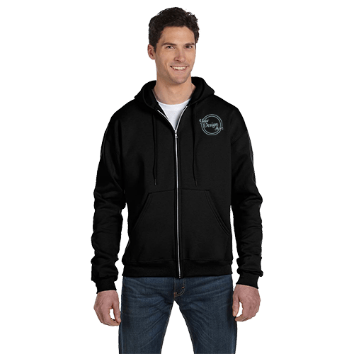 Champion Adult Double Dry Eco Full-Zip Hoodie - 5 Colors 1