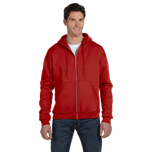 Champion Adult Double Dry Eco Full-Zip Hoodie - 5 Colors 4