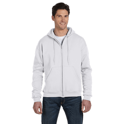 Champion Adult Double Dry Eco Full-Zip Hoodie - 5 Colors 5
