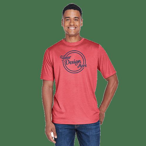 Team 365 Men's Sonic Heather Performance T-Shirt - 8 Colors 1