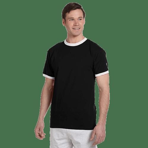 Champion Adult Ringer T-Shirt - 3 Colors 3