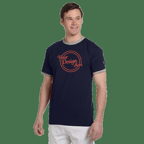 Champion Adult Ringer T-Shirt - 3 Colors 1
