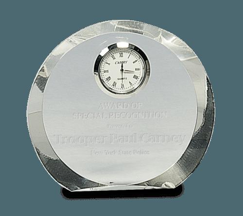 Round Crystal Clock 1