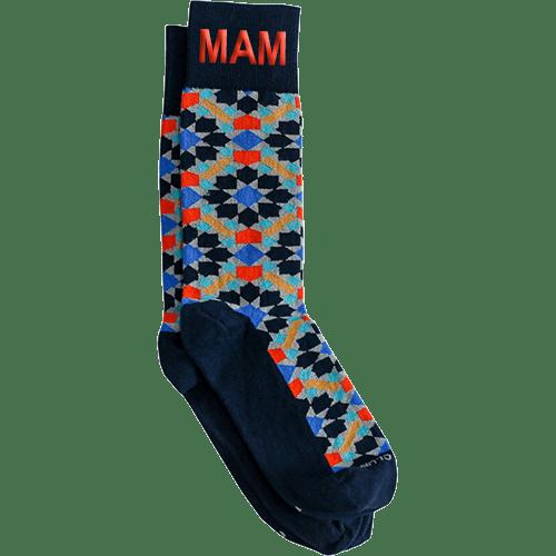 Personalized Zellige Socks 1