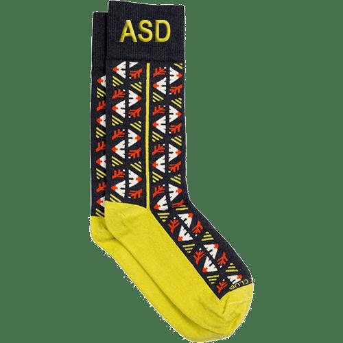 Personalized Harvest Socks 1