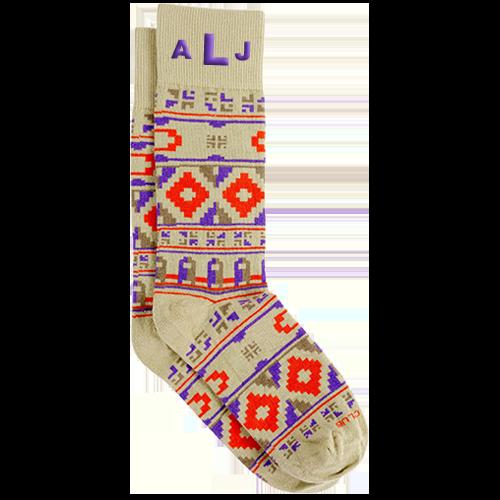 Personalized Wanderer Socks 1