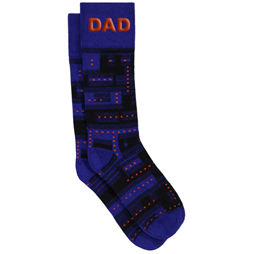 Personalized Glitch Socks 1