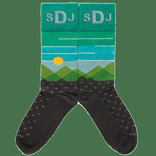 Personalized Frontier Socks 1