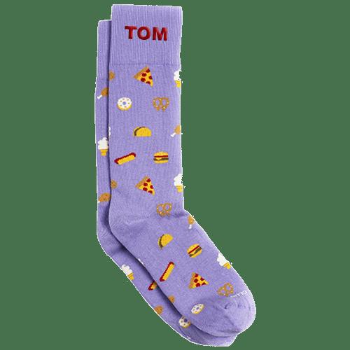 Personalized Smorgasbord Socks 1