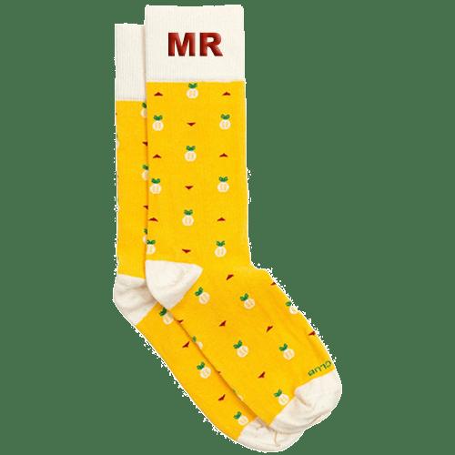 Personalized Ananas Socks 1