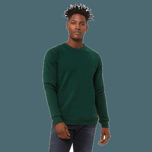 Bella + Canvas Unisex Sponge Fleece Crewneck Sweatshirt - 10+ Colors Available 9